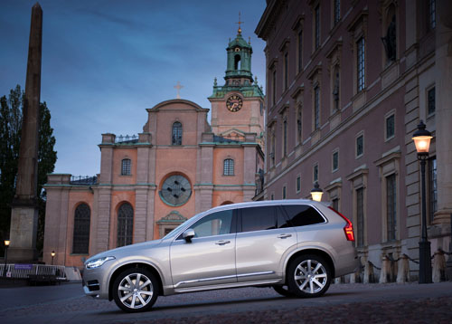 2015 - Volvo XC90 for the Royal Wedding of Prince Carl Philip and Ms. Sofia Hellqvist.