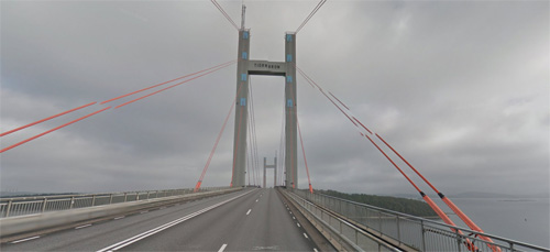 2016 - Tjörnbron towards Stenungsund (Google Streetview)