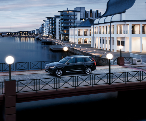 2016 - Volvo XC90 on Kvickbron near Dunkers kulturhus in Helsingborg