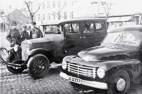 1948 - Volvo PV444 and PV4