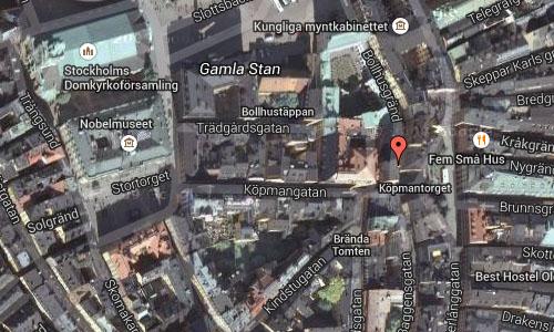 Bollhusgränd in Stockholm Maps2