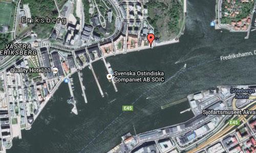 Eriksberg in Göteborg Maps2
