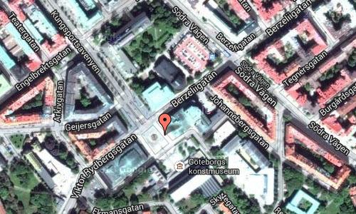Götaplatsen in Göteborg Maps