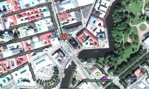 Kungsportsplatsen in Göteborgmaps2