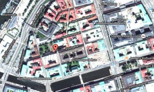 Postgatan in Göteborg maps2