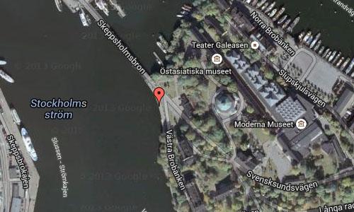Skeppsholmen in Stockholm Maps2