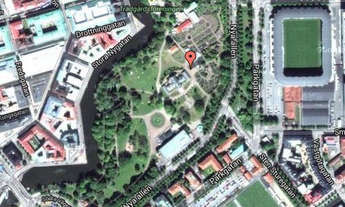 Trädgårdsföreningen Göteborg Maps