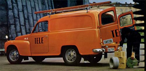 1964 - Volvo Duett P210 Televerket