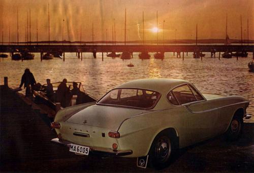 1965 - Volvo P1800 S at Långedrag in Göteborg