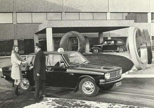 1970 - Volvo 144 Taxi