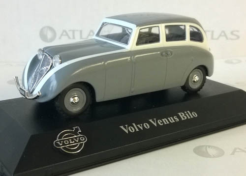 2015 - Volvo Venus Bilo by Edition Atlas in the Volvo Collection 1/43 scale.