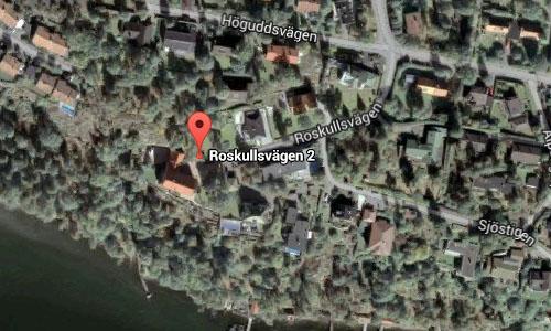 2015 - Roskullsvägen 2 on Lidingö