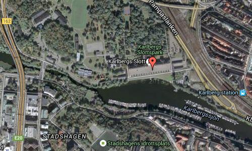 2016 - Karllbergs Slott in Solna Maps2