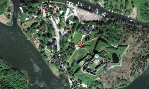 Bohus fästning Maps