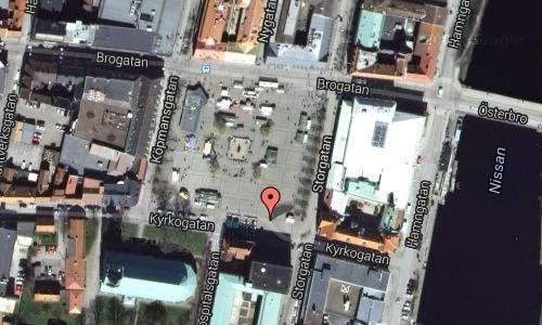 Stora torg in Halmstad maps2