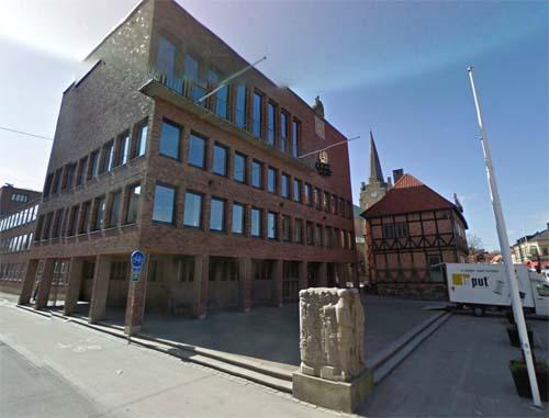 2013 - Stora torg in Halmstad (Google Streetview)