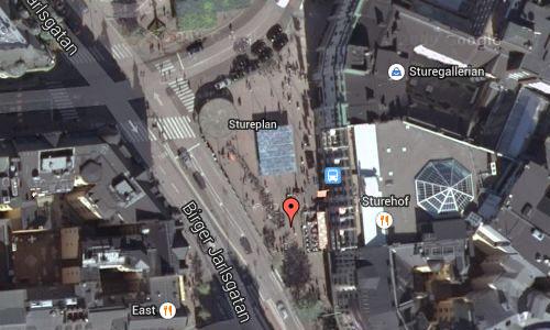 Stureplan in Stockholm Maps2