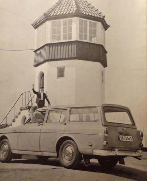 1962 - Volvo Amazon (Volvo Ratten 1962-3)