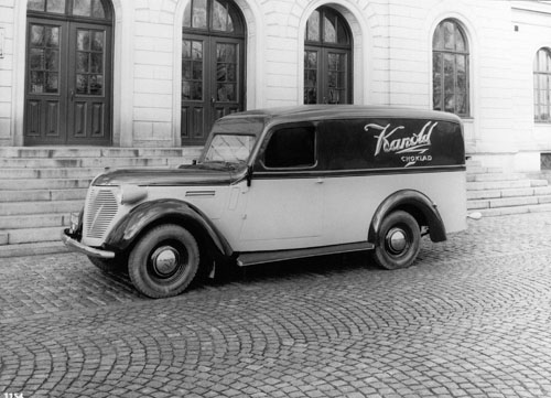 1930 - Volvo PV57 at Bergslagsgatan 2 in Göteborg