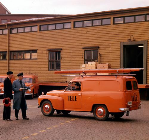 1964 - Volvo P210 Skåpvagn at Byfogdegatan 3 in Göteborg