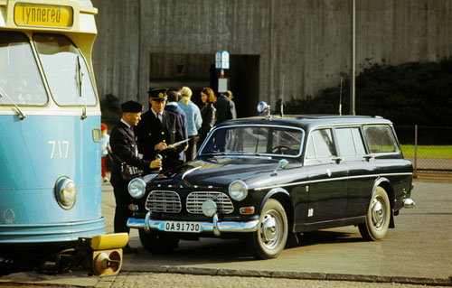 1968 - Volvo Amazon P220 at Wieselgrensplats in Göteborg
