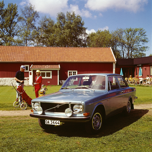 1972 - Volvo 142GL at Delsjö golfklubb on Gamla Boråsvägen in Göteborg
