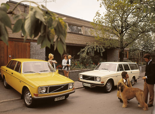 1972 - Volvo 144 and 145