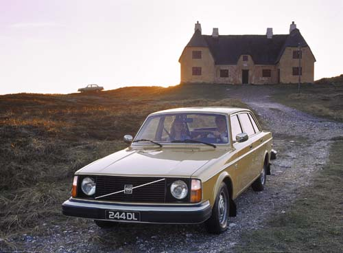 1975 - Volvo 244, somewhere on Gotland?