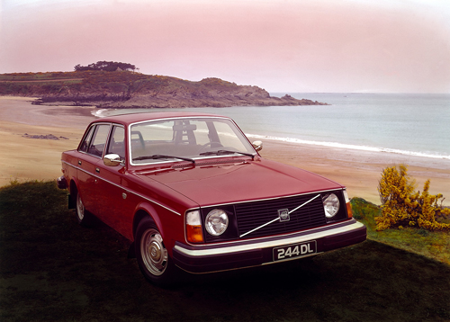 1977 - Volvo 244 DL on French coast?