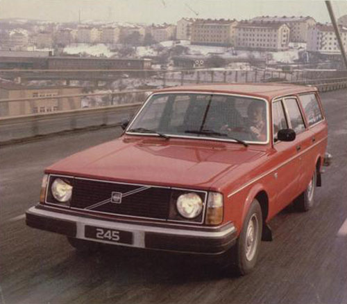 1978 - Volvo 245 Van