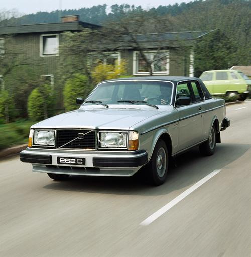 1980 - Volvo 262C, somewhere in Skåne near Höganäs?