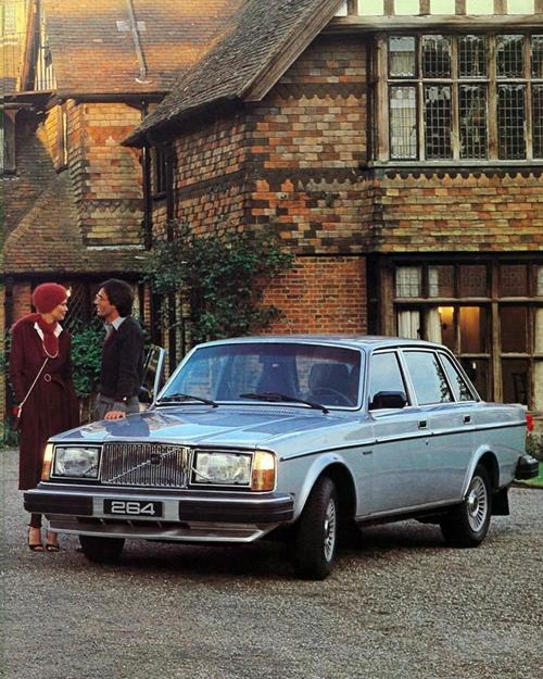 1980 - Volvo 264 GLE somewhere in Scotland