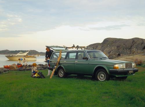 1981 - Volvo 265 GLE on Swedish west coast but where?