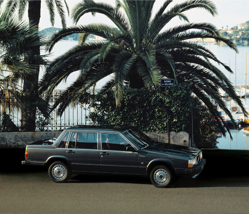 1985 - Volvo 740 GLE on Avenue des Hellenes in Monaco