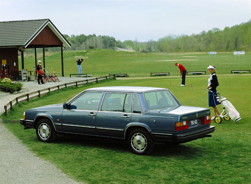 1985 - Volvo 760 GLE at Kungsbacka Golfklubb