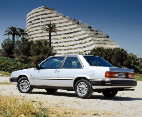 1985 - Volvo 780, somewhere on the Cote d'Azur near Nice?