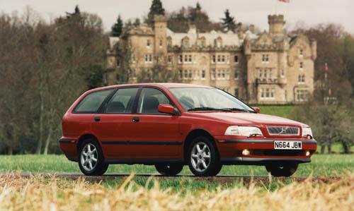 1996 - Volvo V40, somewhere in England