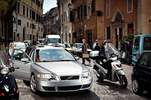 2006 - Volvo V70R, also in Rome...