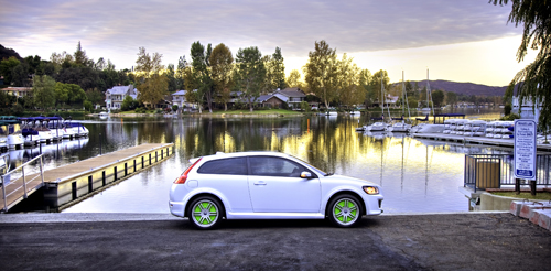 2007 - Volvo C30 ReCharge Concept at Westlake Yacht Club on Lindero Canyon Rd in Westlake Village, California