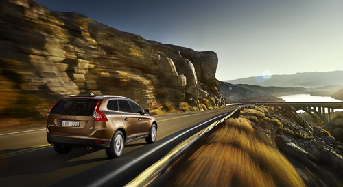 2009 - Volvo XC60 at Bixby Creek Bridge near Monterey in California, USA.