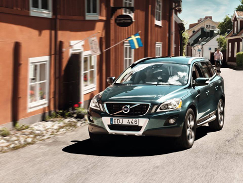 2011 - Volvo XC60, somewhere in an old village in Sweden, bet where?