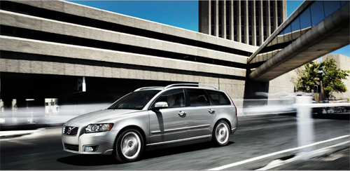 2012 - Volvo V50 at Strand St in Cape Town, South Africa
