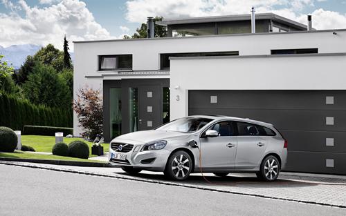 2013 - Volvo V60 Hybrid, somewhere in Switzerland?
