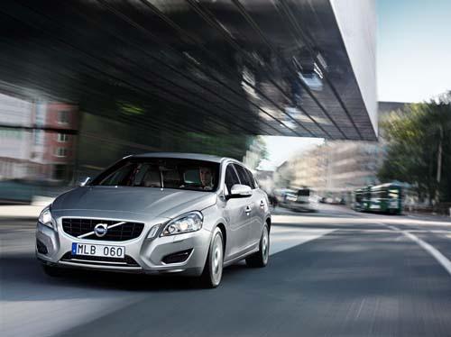 2013 - New Volvo V60, somewhere in Zurich?