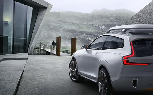 2014 - Volvo Concept XC Coupé at Trollstigen Senter  in Norway