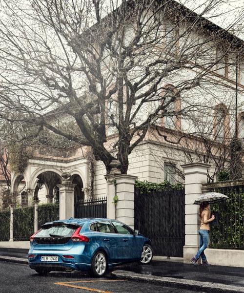 2015 - Volvo V40, somewhere in Italy or Spain?