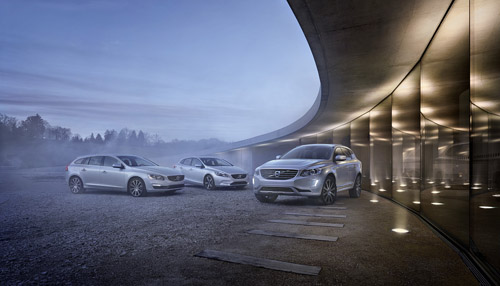2015 - Volvo V60, V40 and XC60 (photo by Thomas Motta)