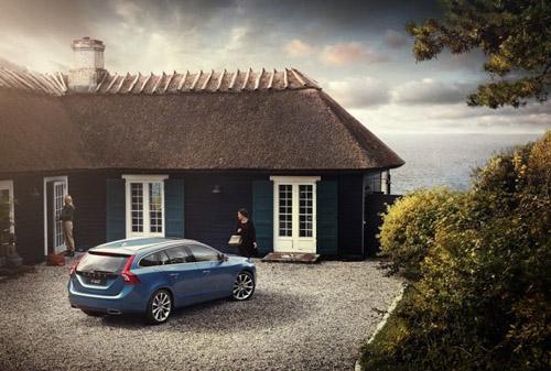 2015 - Volvo V60, somewhere in Denmark near the coast?