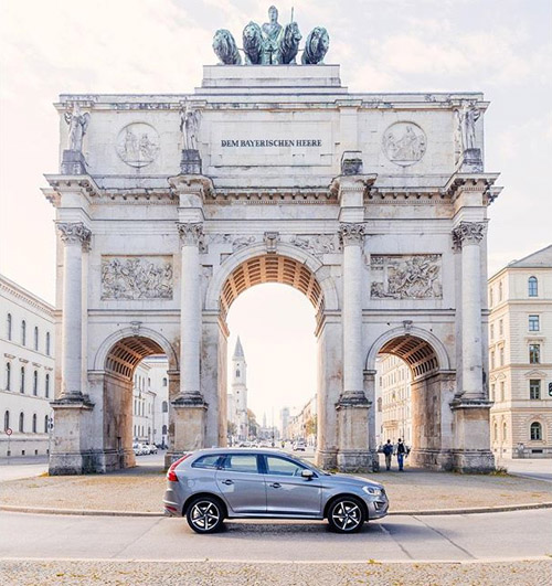 2015 - Volvo XC60 at Siegestor in Munich Germany