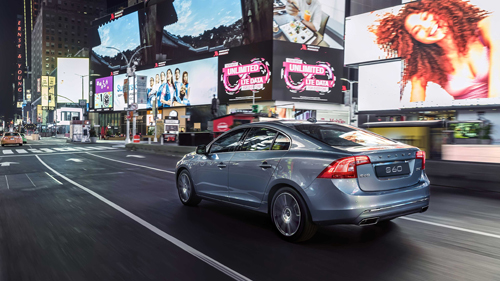 2016 - Volvo S60L NY Times Square and 7th Ave in NYC